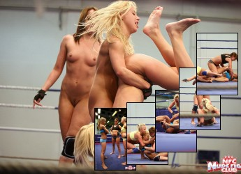 Andy Brown, Carla Cox, Nikky Thorne, Wrestling, Nudefightclub