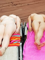 Holly Brooks and Aurora Rose share cock