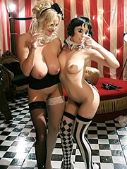 Kelly Madison and CoCo in sex curcus