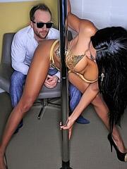 Anya Ivy fucks in VIP room